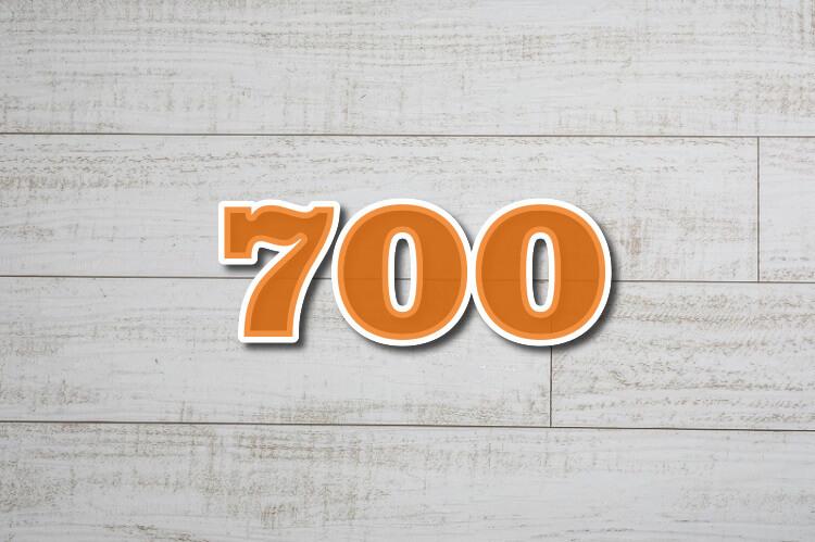 TOEIC score700