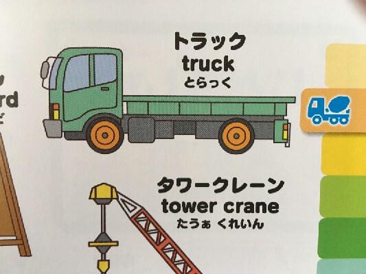 こどもはじめてずかん トラック